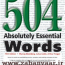کتاب ۵۰۴ واژه ضروری بارونز همراه با ترجمه فارسی و تلفظ