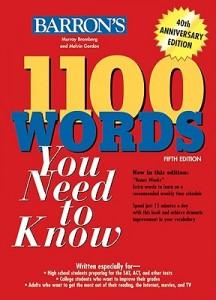 دانلود رایگان کتاب 1100 واژه بارونز