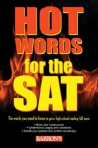 کدینگ لغات Hot Words for the SAT